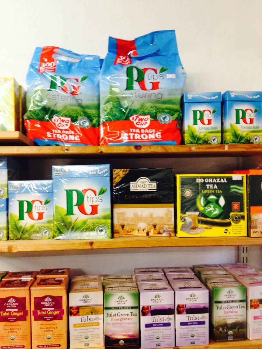 Eine weitere Stärke des India House: Unser Angebot an indischen Tees!