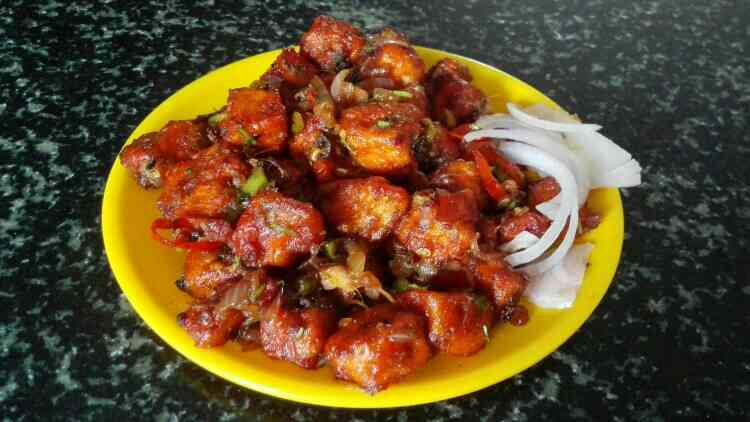 #Tasty #Paneermanchuria is waiting to fill your #Evening appetite #Snack in  #Beachviewrestaurant. - by Windys Family Restaurant, VISAKHAPATNAM