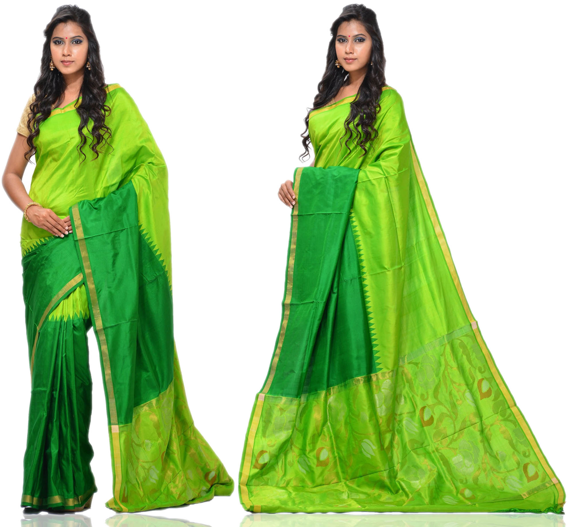 Price: - 10000/-   Uppada presents new collection of uppada sarees, uppada cotton silk sarees, uppada silk sarees, uppada silk sarees. Sign up now for E-book you will be updated with latest collection of ethnic verities. For More Info Click on :- www.uppada.com  We manufacture of Uppada sarees, Paithani sarees, Banarasi sarees, Venkatagiri Sarees, Gadwal Sarees, Khadi sarees, Hand Painted Kalamkari Dupatta, Ikkat sarees, Kanchipuram Sarees, Atr Poly Silk Sarees, Dupattas, Stoles etc. For more info us at 040 64640303, 441905005. - by Paithani, Hyderabad