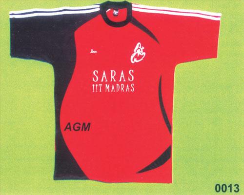 Football Jersey - by AGM SPORTSWEARS, No.82, T Block, 5th Main Road, Anna Nagar, Chennai, Tamilnadu