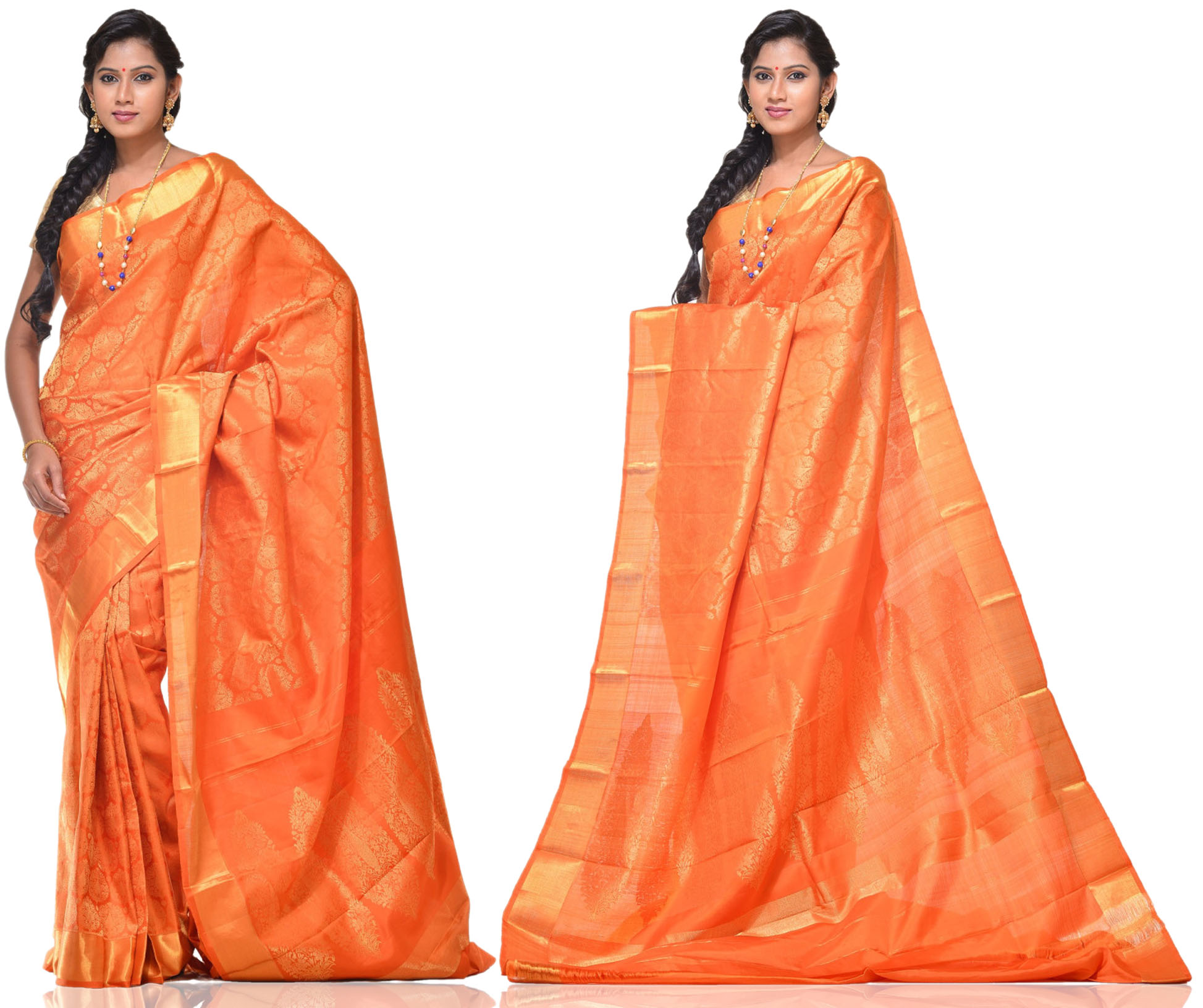 Price: - 16500 /-   New Arrivals Arrived kanchipuram Sarees with New Design. These Saree Gives You a Traditional Look of South India. This Saree Worn at Wedding, Parties, Festivals, Functions. Sign up now for E-book you will be updated with latest collection of ethnic verities. For More Info Click on :-  www.uppada.com   We manufacture of Uppada sarees, Paithani sarees, Banarasi sarees, Venkatagiri Sarees, Gadwal Sarees, Khadi sarees, Hand Painted Kalamkari Dupatta, Ikkat sarees, Kanchipuram Sarees, Atr Poly Silk Sarees, Dupattas, Stoles etc. For more info us at 040 64640303, 441905005.  Buy online: - uppada.com  - by Paithani, Hyderabad