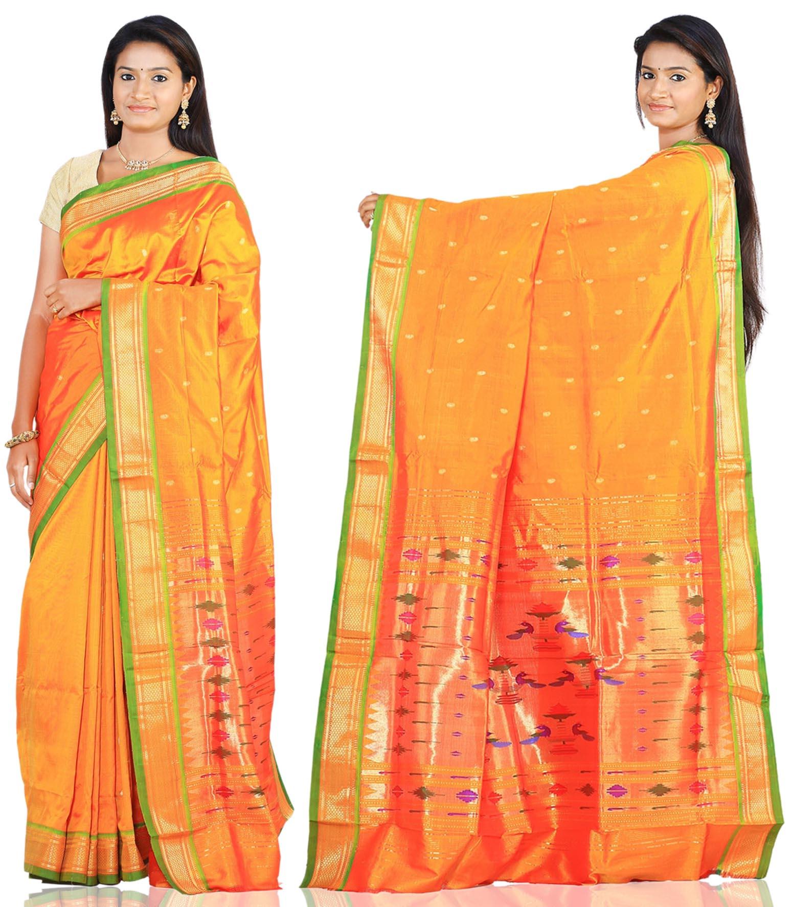 Price: - 8000 /-   Paithani Sarees, Paithani Sarees online shopping, Paithani Silk Saree With Matching Blouse Piece, Paithani Sarees Price. Sign up now for E-book you will be updated with latest collection of ethnic verities. For More Info Click on :- www.uppada.com  We manufacture of Uppada sarees, Paithani sarees, Banarasi sarees, Venkatagiri Sarees, Gadwal Sarees, Khadi sarees, Hand Painted Kalamkari Dupatta, Ikkat sarees, Kanchipuram Sarees, Atr Poly Silk Sarees, Dupattas, Stoles etc. For more info us at 040 64640303, 441905005.  Buy online: - uppada.com  - by Paithani, Hyderabad