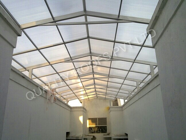 Polycarbonate Roofing in Chennai   we are specialist in Polycarbonate Roofing Chennai and  Metal sheet roofing chennai,  we have completed several project all around tamilnadu. - by QUALITY ROOFS PVT LTD                      Call : 8099326706 , chennai