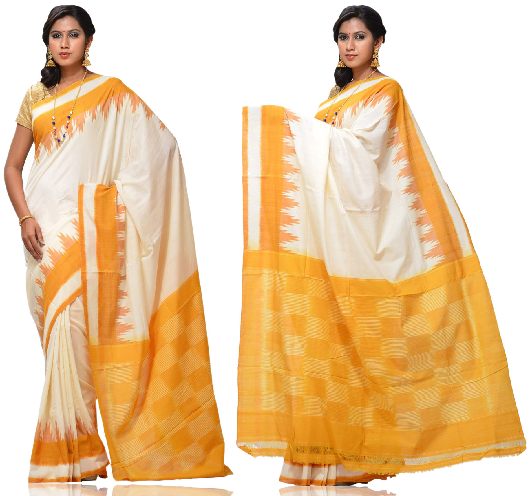 Price:- 3700/-   New collection of Ikkat sarees, ikkat Silk sarees, ikkat Cotton sarees, ikkat sarees. Sign up now for E-book you will be updated with latest collection of ethnic verities. For More Info Click on :- www.uppada.com  We manufacture of Uppada sarees, Paithani sarees, Banarasi sarees, Venkatagiri Sarees, Gadwal Sarees, Khadi sarees, Hand Painted Kalamkari Dupatta, Ikkat sarees, Kanchipuram Sarees, Atr Poly Silk Sarees, Dupattas, Stoles etc. For more info us at 040 64640303, 441905005.  Buy online: - uppada.com  - by Paithani, Hyderabad