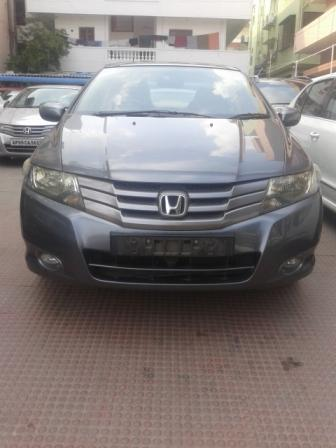 HONDA CITY V MT:MODEL 07/2010, KM 32679, COLOUR GRAY, FUEL PETROL, PRICE 550000 NEG. - by Nani Used Cars, Hyderabad