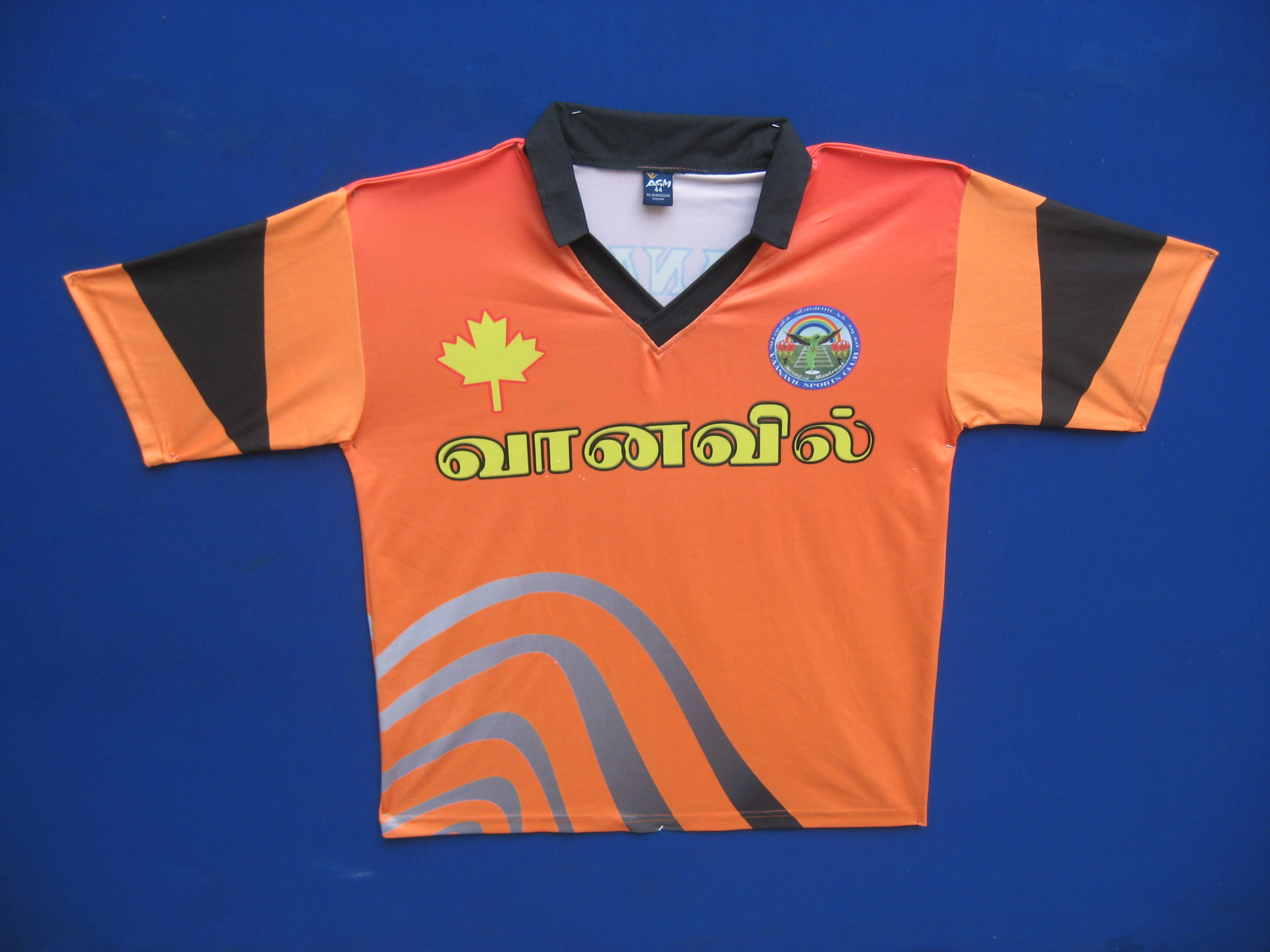 Sublimation T-Shirt - by AGM SPORTSWEARS, Chennai
