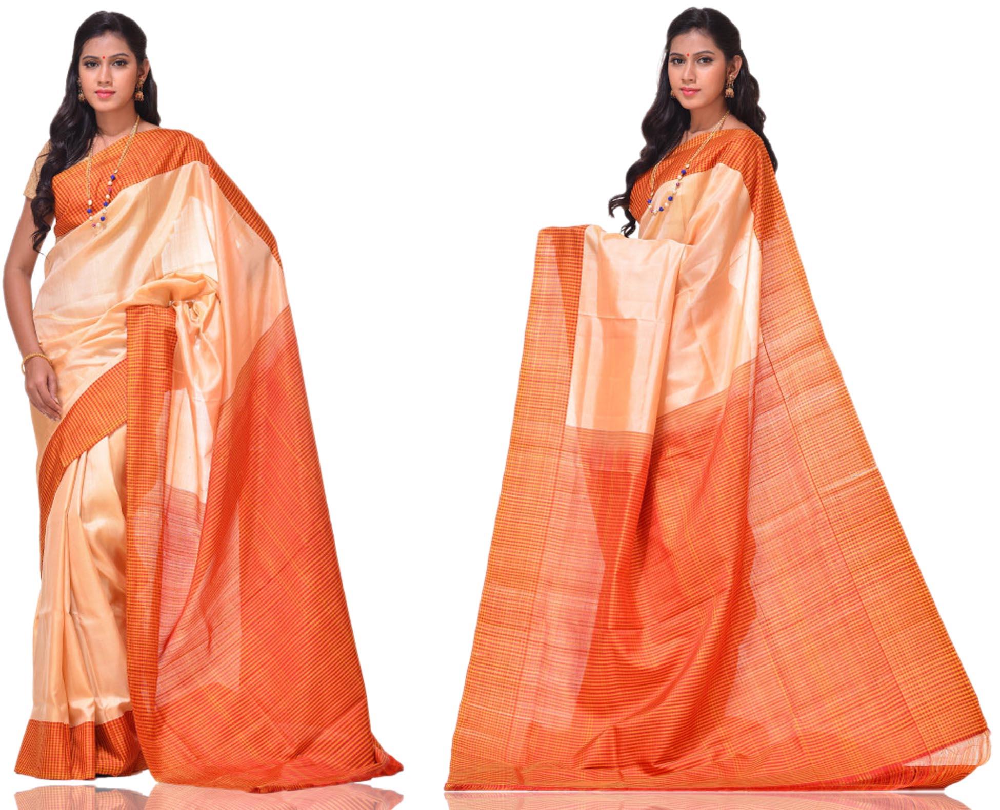 Price: - 8500/-   Uppada presents new collection of uppada sarees, uppada cotton silk sarees, uppada silk sarees, uppada silk sarees. Sign up now for E-book you will be updated with latest collection of ethnic verities. For More Info Click on :- www.uppada.com  We manufacture of Uppada sarees, Paithani sarees, Banarasi sarees, Venkatagiri Sarees, Gadwal Sarees, Khadi sarees, Hand Painted Kalamkari Dupatta, Ikkat sarees, Kanchipuram Sarees, Dupattas, Stoles etc. For more info us at 040 64640303, 441905005.  - by Paithani, Hyderabad