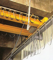 we are manufacturer of EOT Crane spare parts as like DSL shrouded conductor system, Radio Remote control System, Pendant, Thruster brake, Limit Switch etc........  - by SP Engineering Works 9999966195, Faridabad
