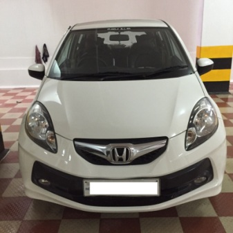 HONDA BRIO 1.2 V MT BSIV;MODEL 03/2012, COLOUR WHITE, FUEL PETROL, KM 66000, EXCELLENT VEHICLE , GOOD FEATURES AND FULL SHOW ROOM SERVICE.  - by Nani Used Cars, Hyderabad