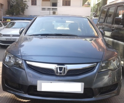 HONDA CIVIC 1.8 S MT BSIV; MODEL 08/2010, COLOUR POLISHED METAL METALLIC , FUEL PETROL, KM 76795, EXCELLENT FEATURES AND GOOD CONDITIONED VEHICLE . - by Nani Used Cars, Hyderabad