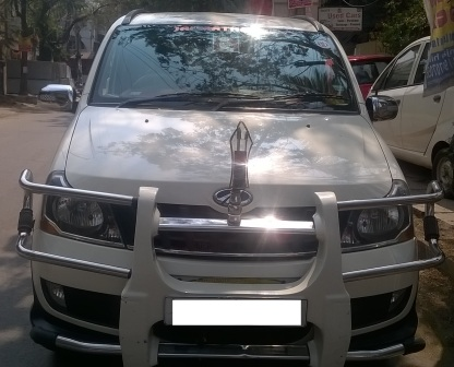 MAHINDRA XYLO D4 MDI CRDE 2WD 8STR BSIV:MODEL 08/2012, COLOUR DIAMOND WHITE , KM 34732, FUEL DIESEL, EXCELLENT VEHICLE . - by Nani Used Cars, Hyderabad