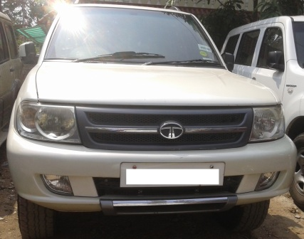 TATA  SAFARI EX 4X2 7SEAT 2.2L (BS IV) ;MODEL 07/2011, COLOUR WHITE, FUEL DIESEL, KM 70328, VERY GOOD CONDITION AND EXCELLENT FEATURES. - by Nani Used Cars, Hyderabad