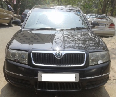 SKODA SUPERB ELEGANCE 2.5 BSIII;MODEL 06/2007, COLOUR M BLACK , KM 86351, FUEL DIESEL, EXCELLENT FEATURES AND FULLY SHOW ROOM CONDITION. - by Nani Used Cars, Hyderabad