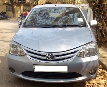 TOYOTA ETIOS LIVA GD BSIV;MODEL 01/2012, KM  50096, FUEL DIESEL, COLOUR BLUISH SILVER, SUPERB FEATURES AND NICE CONDITION. - by Nani Used Cars, Hyderabad