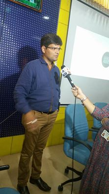 Interview of Milind Shah from Ngo - Being Patient Foundation conducted by Journalist of ABP ASMITA GUJARATI NEWS CHANNEL