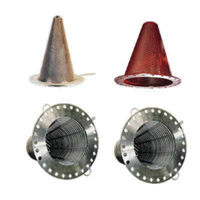 Conical Strainers Manufacturer in Chennai  Our company designs, manufactures and supplies excellent Temporary Strainers or Conical Strainers, Conical Filter Strainers and Steel Conical Strainers, which are mounted between two flanges as permanent protection of pipelines and plants. We design and develop world-class stainless steel Conical Strainers in fully welded design. They are made from perforated plate or perforated plate with fabric filter medium related to the filter rate. The compact design of Strainers guarantees a minimal space requirement. These Temporary Strainers are often applied when a new plant is put into operation or by repairs of existing plants. We offer these products at highly customized prices.