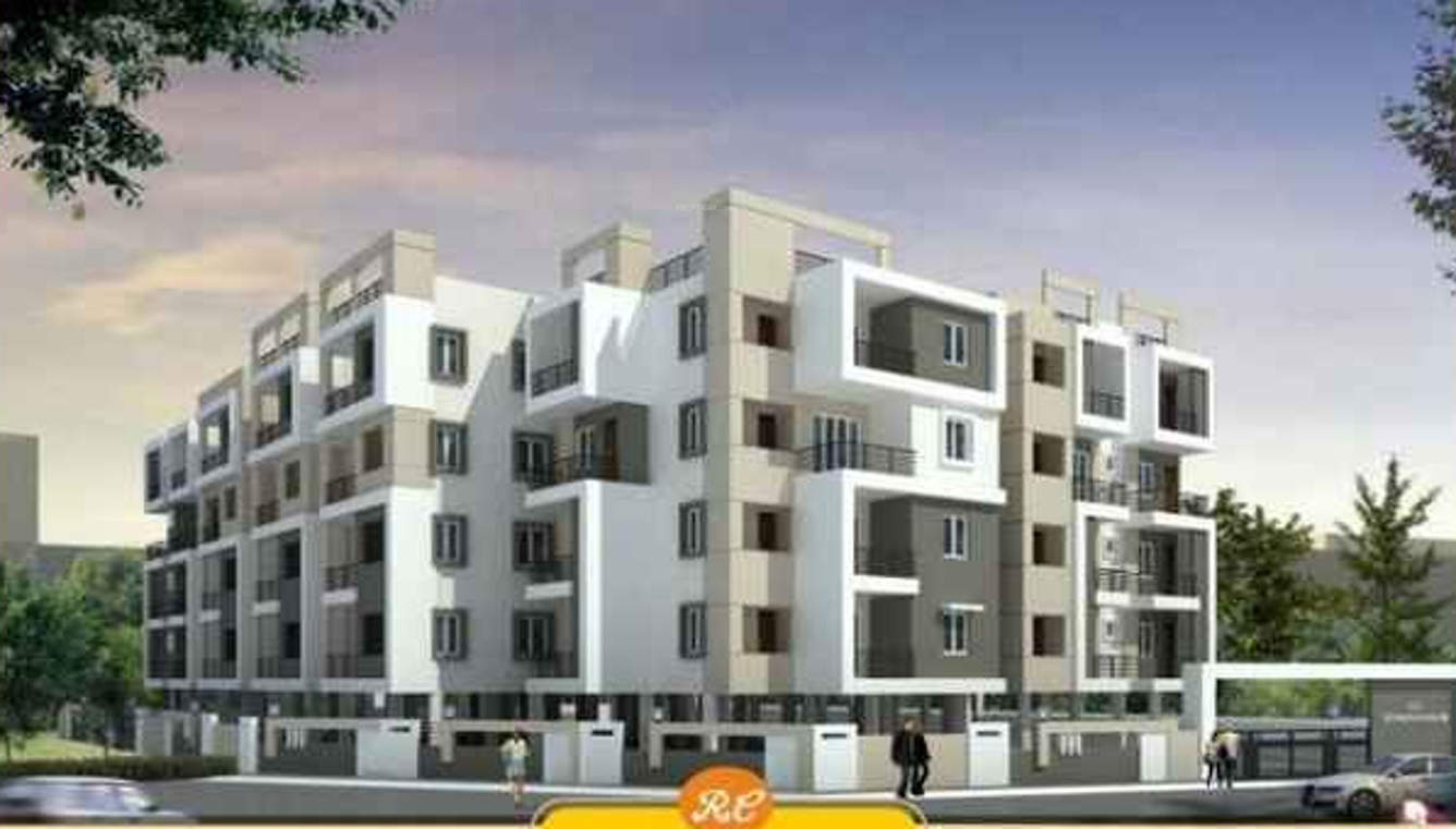 Budget flats near to your place at Whitefield. With Rain Water Harvesting and Play Ground.