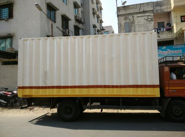 Safe and secure Container vehicles at your disposal. Remember Ace Relocation , the only name for your Pan india needs of Relocation.  we are no 1 packer and mover in Baroda.