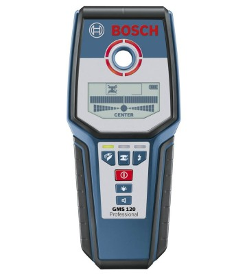 Bosch Detector Gms 120 Professional   Buy Bosch Detector GMS 120  Professional at Best Price. Shop online for Bosch Detector GMS 120 Professional from Labbazaar Get free Shopping and CoD Across India.  For more Details :- https://www.labbazaar.in/bosch-detector-gms-120-professional.html Or Call now at 91-8826222333   Features of Bosch Detector GMS 120 Professional :-   1. Pinpoint indication of the object's centre with the Centre Finder scale, and display of material properties 2. Marking hole with LED luminous ring 3. Detectable Material: Ferrous and nonferrous metals, wooden substructures, live and non-live cables 4. Max. detection depth: 120 mm 5. Detection depth, steel, max.: 120 mm 6. Detection depth, copper, max.: 80 mm 7. Detection depth of live cables, max.: 50 mm 8. Detection depth of wooden substructures, max.: 38 mm 9. Automatic deactivation, approx.: 5 min 10. Power supply: 1 x 9 V 6LR61 11. Weight, approx.: 0.27 kg  Tags : - Bosch Detector GMS 120 Professionalprofessional in India, Bosch Detector GMS 120 Professionalprofessional in Delhi , Bosch Detector GMS 120 Professionalprofessional in Mumbai, Bosch Detector GMS 120 Professionalprofessional Chennai, Bosch Detector GMS 120 Professionalprofessional Bangalore, Bosch Detector GMS 120 Professionalprofessional Jaipur, Bosch Detector GMS 120 Professionalprofessional Bangalore, Jaipur, Punjab , Ahmedabad, Ratlam, Aizwal, Coimbatore, Kangra, Hassan, Pune, Kollam, Cochin, Vishakhapatnam, Kanpur, Udupi, Surat, Panjim, Jaipur, Nagpur, Vasai, Rudrapur, Calicut, Dimapur, Thiruvananthapuram, Calicut etc.