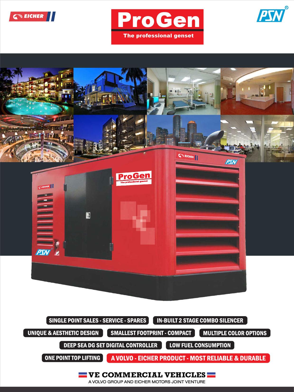 From 1 kva  to 500 kva generators