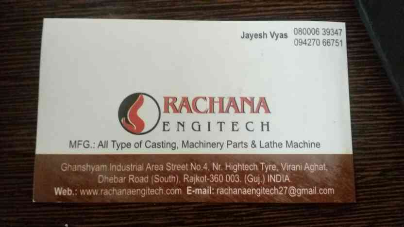 machinery parts in rajkot