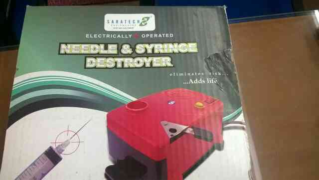 Syrings destroyers and Needle burners in Goa