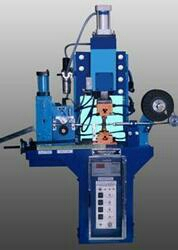 This machine is specially designed for MCB switch gear manufacturer. For copper braided wire corner solidification with cutting different size & length. Wire size 1 sq. mm to 10 sq. mm Length 30 mm to 200 mm max. Solidification sizes 3 mm to 8 mm. No. of operations 50 / minute We can also utilize as any type of copper to copper spot welding application.  SPM Spot Welding Machine in vadodara. Gujarat  SPM Spot Welding Machine in bharuch Gujarat  SPM Spot Welding Machine in surat Gujarat SPM Spot Welding Machine in vapi Gujarat