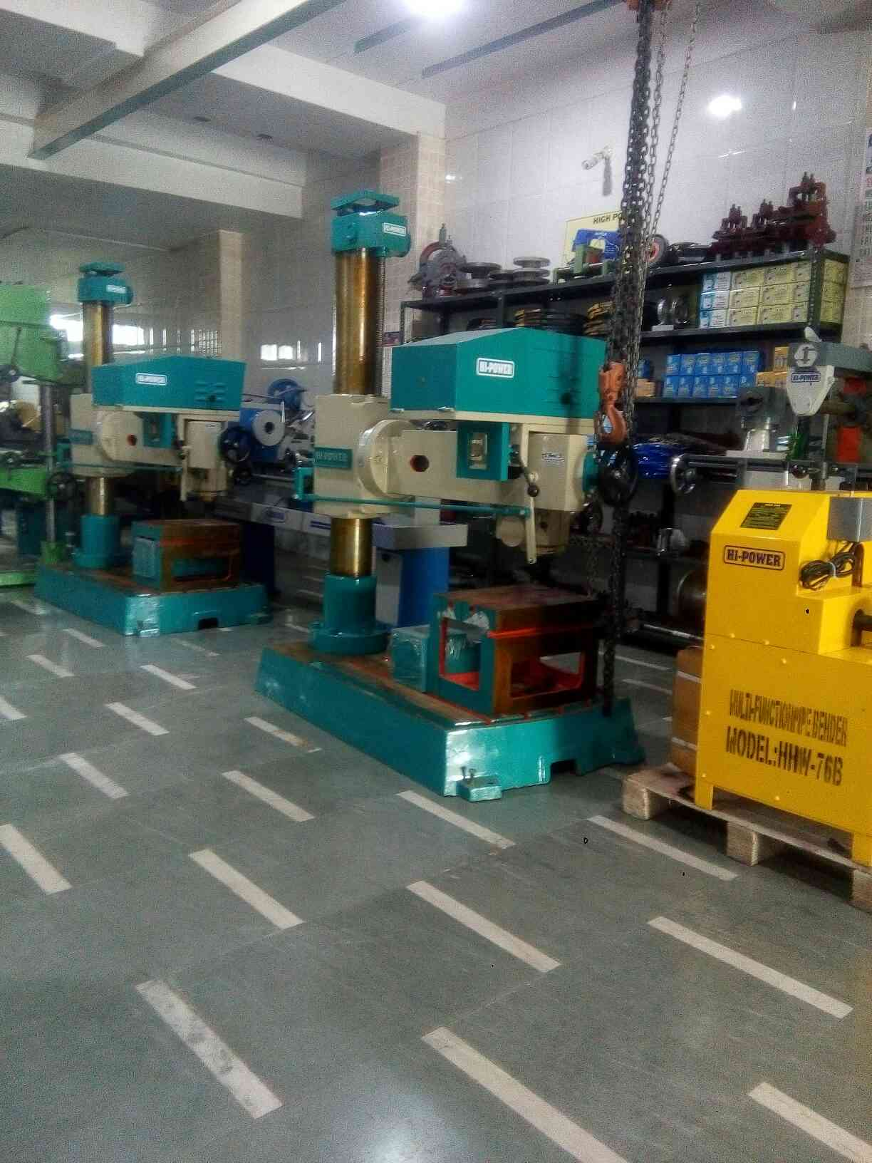 we ate manufacturers of Lathe machine, Drill machine and other SPM in Rajkot