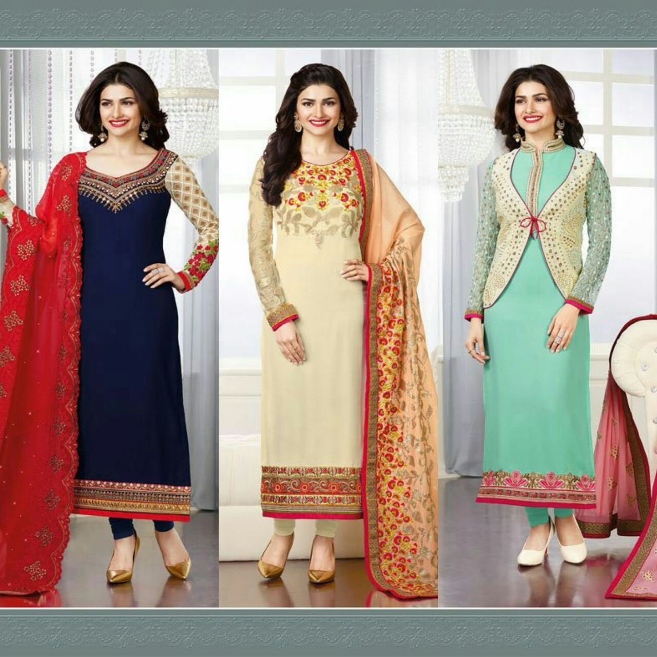 Fashion House is The finest exporters, suppliers, traders, wholesalers and retailers of this impeccable range of Ladies Suits & Dress Materials in Mumbai and Navi Mumbai   For more information contact,  +91 8691895463  +91 22 65656578  +91 9930331767  Shop No 40, Prajapati Cascade, Sector 1, New Panvel, 410206 Navi Mumbai.   For More Information please visit us at   http://www.wholesalemarketmumbai.com/  http://www.fashionhouseindia.in/  http://veneesa.com/