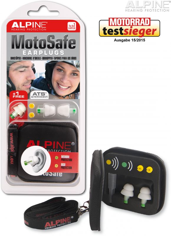 Enjoy your Motor Bike ride with wonderful Alpine Motor Bike Ear Plug