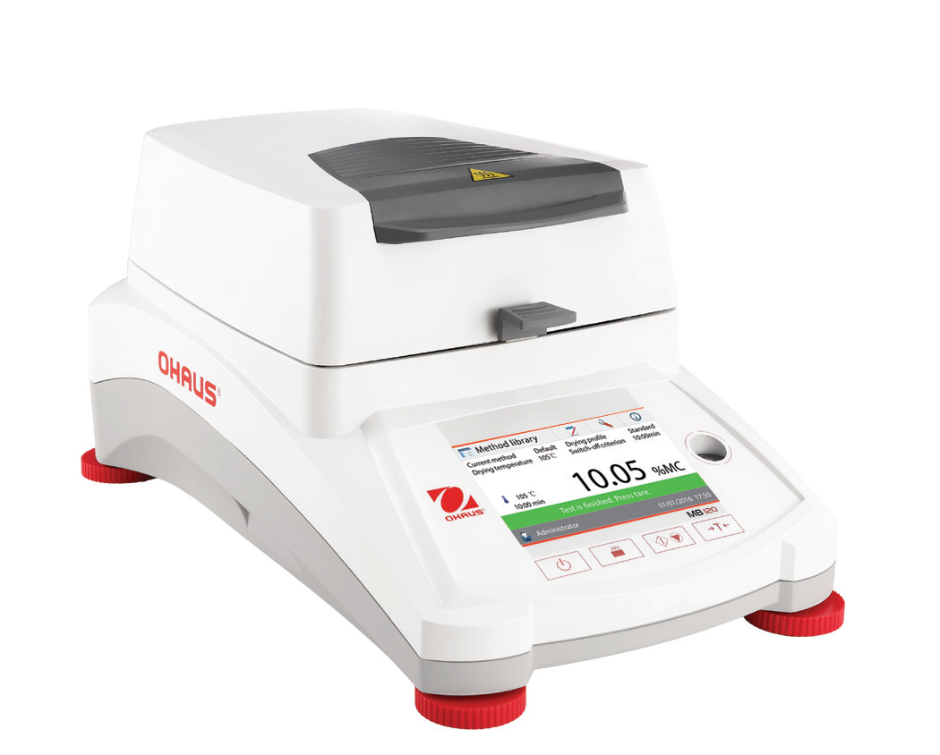 Authorized dealer in Gujarat for  Sales and Servicing of OHAUS make Moisture Analyzer Model MB120 & MB90