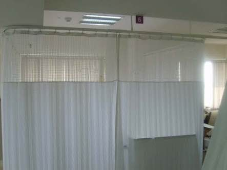 We are one the leading names in manufacturing Fabric Hospital Curtains which are very hygienic and clean. These are widely demanded in the hospital industry as these these are specially designed for hospitals.  Hospital Curtains manufacturers  Pvc Hospital Curtain in New Delhi  Cubicle Curtains for hospitals Manufacturer