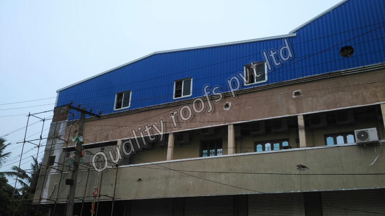 Factory Shed Roofing Contractors In Chennai                          We are the Best Factory Shed Contractors In Chennai. Our Company provides a complete range of Steel Industrial Shed. Our steel industrial sheds are catered to diversified requirements of various industrial establishments. Our expertise is capable in fabricating such steel structural sheds in different sizes and dimensions and other optional features as per the specified requirements of our clients We have a good reputation for factory building, and design and construct all types of metal structures, manufacturing buildings, process plant buildings.  We bring forth Industrial Shed for our clients, which is sourced from celebrated vendors of the market. Suitably designed keeping in mind the different types of badminton courts, these sheds are fabricated using premium quality metals and advanced techniques. Furthermore, for ensuring flawlessness of these products, we check these thoroughly after procurement.
