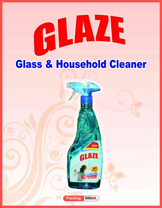 Glass & House hold cleaner 500 ml.