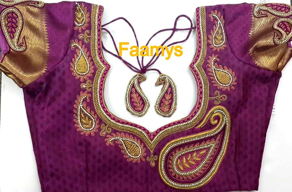 Designer Blouses In Chennai We have huge varieties of Designer Blouses In Chennai and  also we do customized as per requirement.