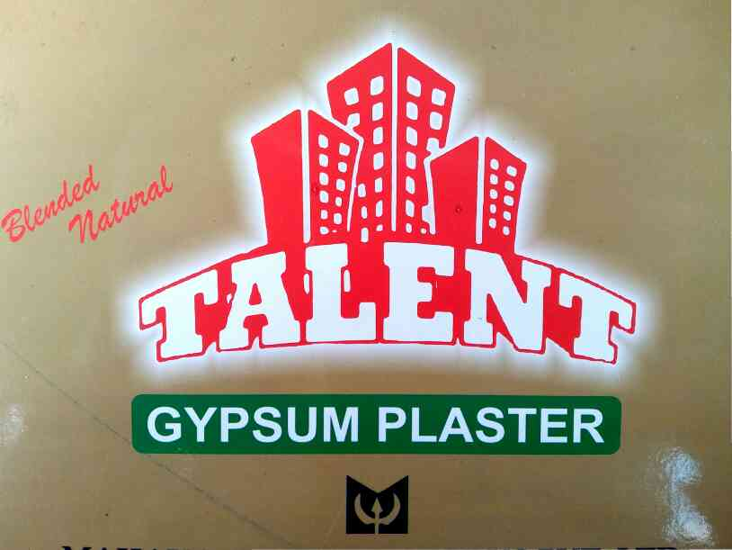 Talent Gypsum Plaster is a product of Mahakali Cement Works Pvt.Ltd. Gypsum Plaster is used in all types of construction, residential and commercial projects. We have our base office at Lasundra, Taluka Savli, District Vadodara, Gujarat.