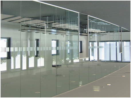 Toughened Glass Door Partition in Noida TOUGHENED GLASS DOOR& PARTITION Frameless partition Petch fitting / Frameless door Spider fitting glass work Sound proof glass Laminated glass Designers glass etc Best Toughened Glass Door Partition in Noida sector 10