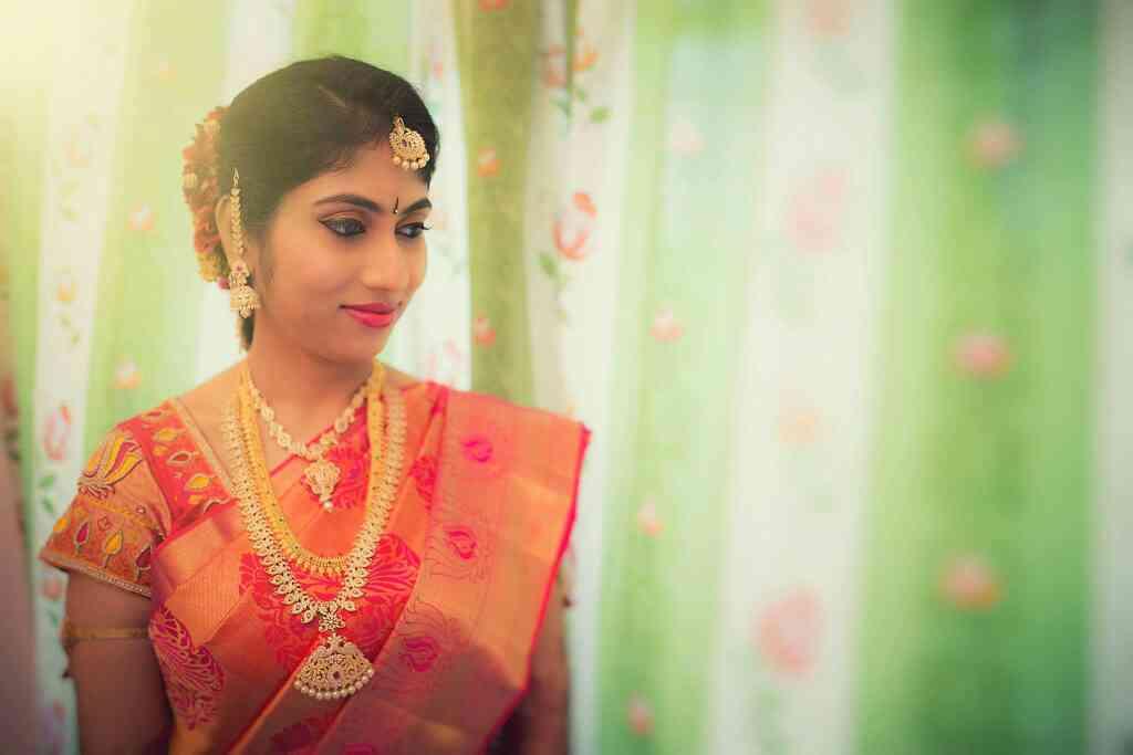 Bridal makeup for soumya