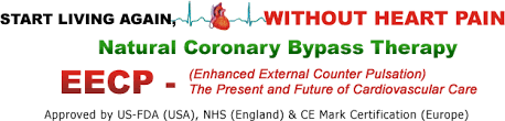 EECP TREATMENT  INCREASING BLOOD FLOW TO THE HEART WITHOUT BYPASS SURGERY OR STENTS