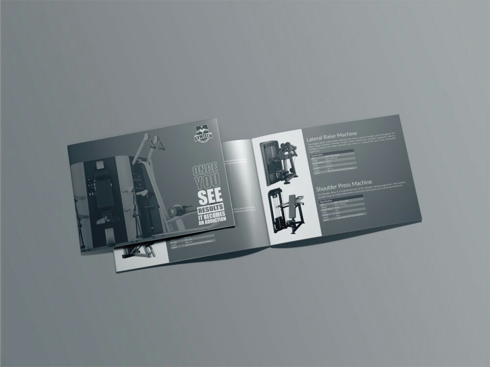 products brochure design