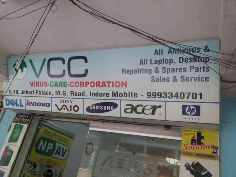 Virus care corporattion deal in all antivirus in indore