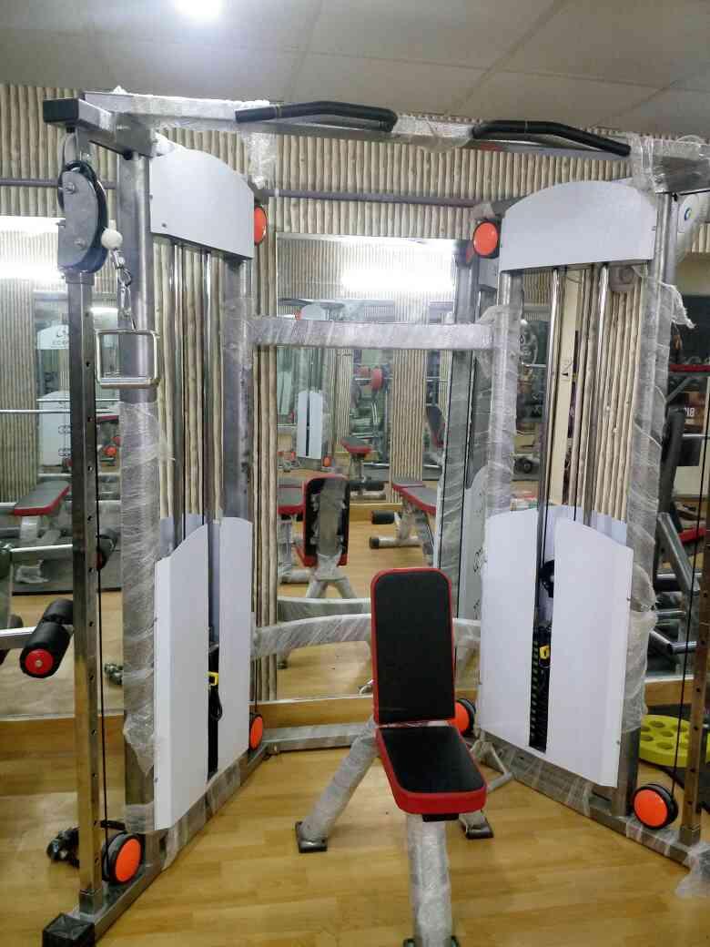 Functional trainer Manufacturer In Delhi. Leading Gym equipment manufacturer