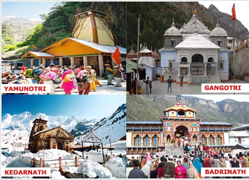 """Chardham Yatra – 12 Days:   Day 1: Arrival at Haridwar  On arrival at Haridwar Railway station transfer to Hotel. Evening visit Har Ki Pauri for Ganga Arti. Later back to Hotel for dinner and overnight Stay.   Day 2: Haridwar – Barkot  This morning leave for Barkot, the feet of Yamnotri. Transfer to hotel and relax for the rest of the day to save energy for Pad Yatra of Yamnotri. Overnight in Hotel.  Day 3: Barkot – Yamnotri (3293m) – Barkot  After breakfast, take pack Lunch and we depart to Jankichatti Here we will begin our first Pahad Yatra of Yamnotri. Able to hire a Doli for your journey (cost not Included), after the Darshan at Yamnotri, return to our hotel in Barkot. Overnight in Hotel.  Day 4: Barkot – Uttarkashi  This morning we depart for Uttarkashi. On arrival check in and lunch at Hotel. Evening visit to the Kashi Vishwanath Temple. Check-in at hotel. Overnight in Hotel.  Day 5: Uttarkashi – Gangotri (3048 mts) – Uttarkashi  Today travel to Gangotri, our second Pahad Yatra. Participation In Prayers and Darshan at Ganga Temple and Holy River Ganga. Later enjoy lunch and return to our hotel at Uttarkashi. Overnight in Hotel.  Day 6: Uttarkashi – Guptkashi  Early today proceed to Guptkasi. On the way have a look at magnificent view of Tihri Dam & Alknanda – Mandakini sangam (Milan) at Rudraprayag. Overnight stay at Guptkasi.  Day 7: Guptkashi – Kedarnath (3584 mts)  Today morning we depart to Kedarnath. Amidst the dramatic mountanscapes of the majestic Kedarnath Range stands one of the twelve """"Jyotirlingas"""" of Kedar ji or Lord Shiva. Hire Doli or Pony (cost not included). Overnight in Kedarnath.  Day 8: Kedarnath darshan – Rudrapryag  Today we do Kedarnath Darshan and start descending by Doli or Pony (cost not included). Later drive towards Rudraprayag.  Day 9: Rudrpryag – Badrinath (3133 mts)  Early morning proceed on an almost full day drive to Shri Badrinath dham, evening visit Shri Badrivishal Temple. Overnight in Hotel.  Day 10: Badrinath – Srinagar Ga"""