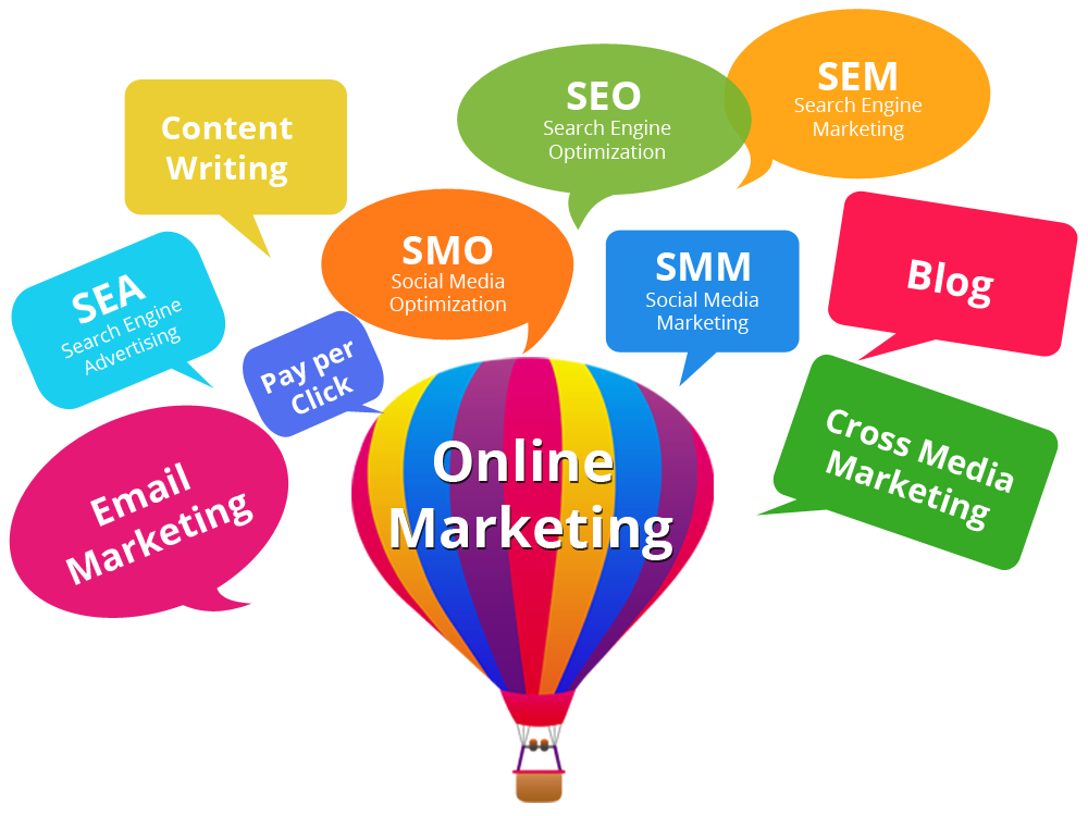 Online Marketing is Digital Marketing Platform that offers Internet Services including Google SEO, Social Media Marketing, Email Marketing, PPC and Web Development.We Provide Social Media Promotion Services like Facebook Promotion, Twitter Promotion, Whatsapp Promotion.