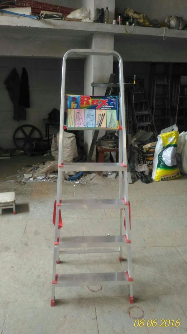 Rex Aluminium Product is a leading manufacturer of aluminium Ladders in Hyderabad and Secunderabad, We offer various types of aluminium Ladders according to te client;s specification and requirement.