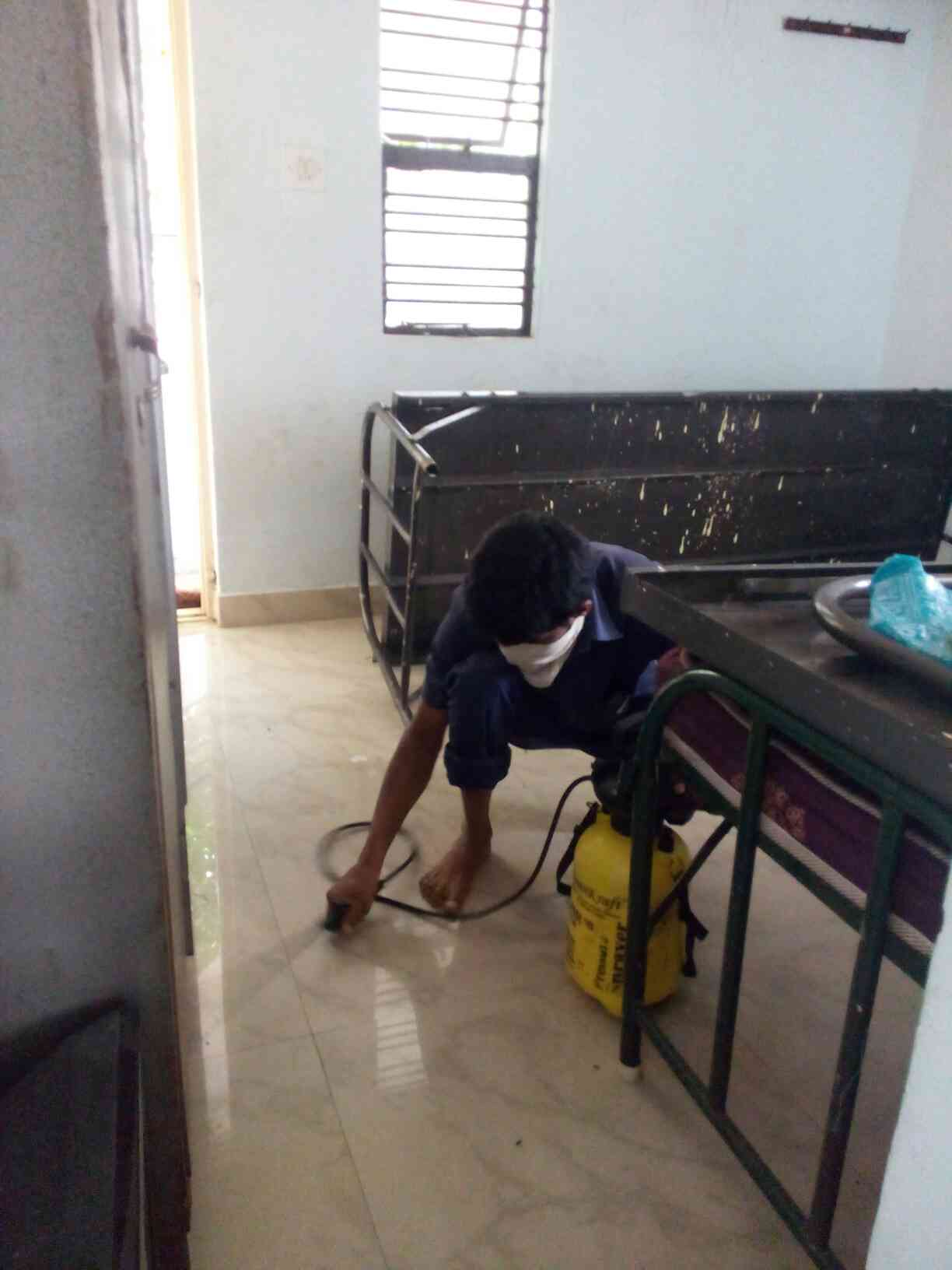 Bed bugs and cockroaches in house will lead to unhygienic conditions with rashes and etc., so for treatment call IMMACULATE-BIO-KLEANERS for bedbugs treatment Cockroaches treatment and termite treatment.
