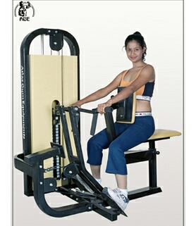 This Seated Row Machine helps you to achieve the most effective back & shoulder for all ages & strength capabilities. This will give you smooth performance & durability. Each dual grip positions are mounted on swiveling pull arm bracket that allows maximum concentration of all back & shoulder muscles. This machine gives more strength, comfort & flexibility for all experienced users of all sizes. Weight Includes 0 to 200 Lbs (0 to 91 kg.)  Seated Row Machine in vadodara