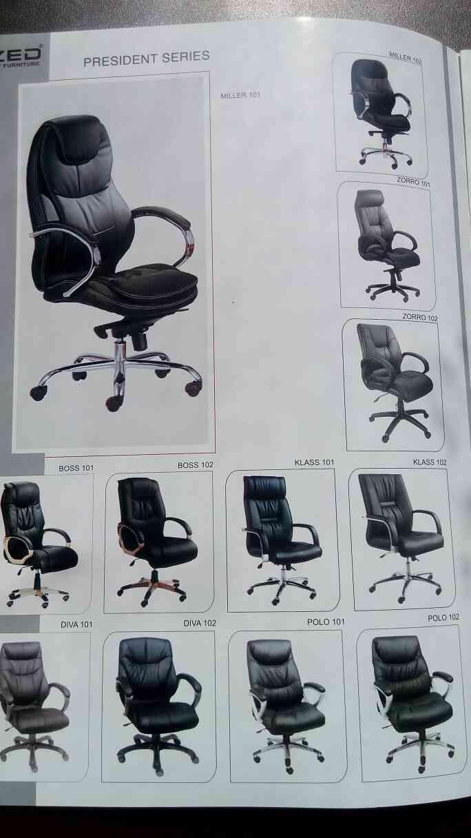 president series of chair manufactured by zed furniture in Vadodara, Gujarat.
