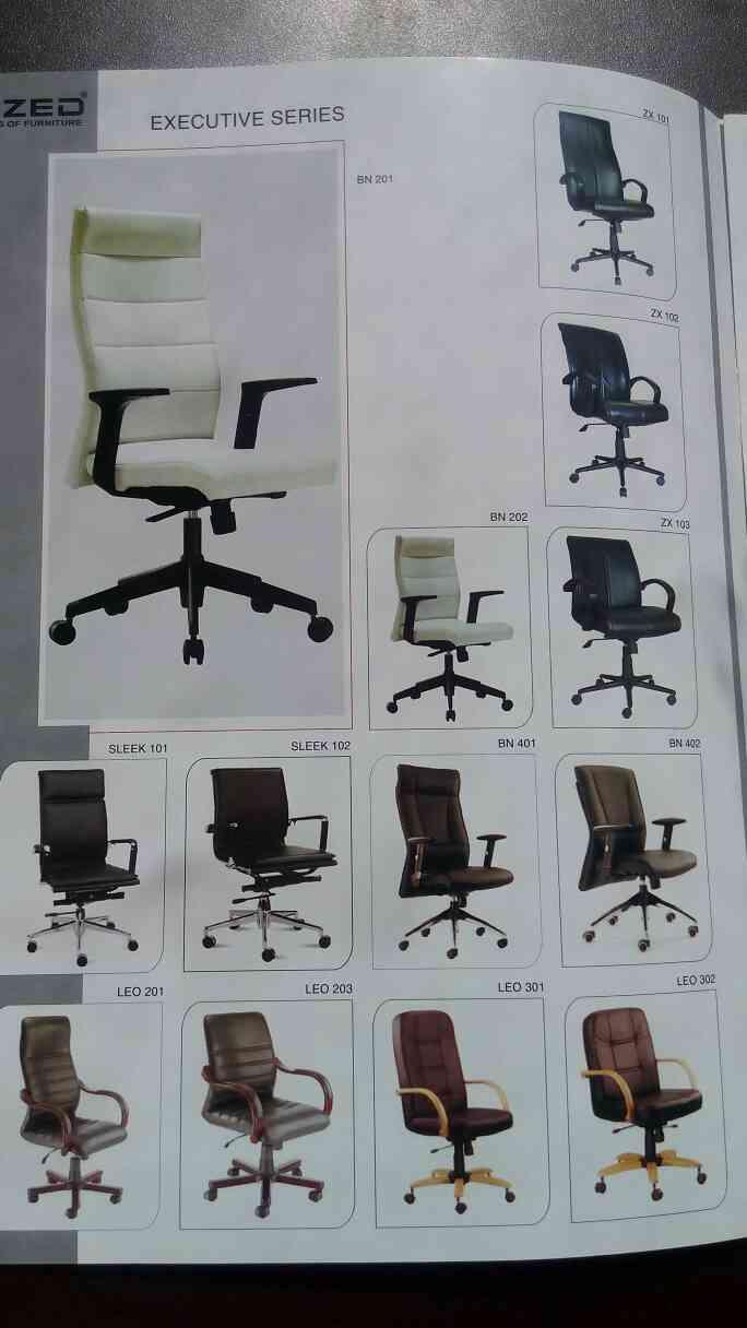 executive series of chairs manufacturer in Vadodara Gujarat.