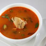 nattu kodi miriyaala soup some thing unique taste @sankranti restaurant